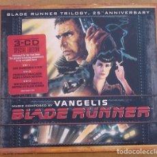 CDs de Música: VANGELIS - BLADE RUNNER (3CD) 2007 - 36 TEMAS - DIGIPACK - TRILOGIA 25º ANIVERSARIO. Lote 171699520