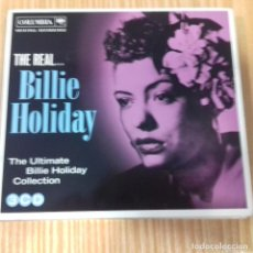 CDs de Música: THE REAL... BILLIE HOLIDAY THE ULTIMATE BILLIE HOLIDAY COLLECTION 3 CDS . Lote 171701905