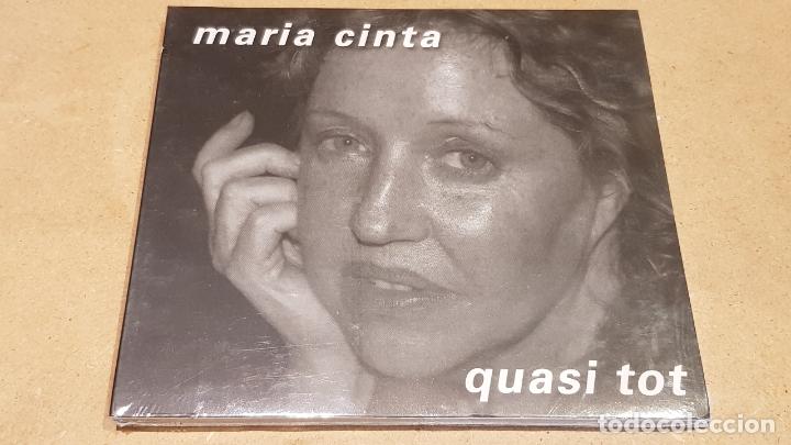 OCASIÓN !! / MARIA CINTA / QUASI TOT / DIGIPACK-CD - K INDUSTRIA-2007 / 20 TEMAS / PRECINTADO. (Música - CD's Melódica )