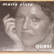 CDs de Música: OCASIÓN !! / MARIA CINTA / QUASI TOT / DIGIPACK-CD - K INDUSTRIA-2007 / 20 TEMAS / PRECINTADO.. Lote 208143385