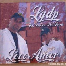 CDs de Música: LOS GUAJIROS DEL PUERTO - LOCO AMOR (CD) 2005 - 14 TEMAS + VIDEO PC. Lote 171704614