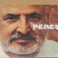 CDs de Música: PERET / QUE LEVANTE EL DEDO / DIGIPACK-CD - K INDUSTRIA-2007 / 10 TEMAS / PRECINTADO.. Lote 171706704
