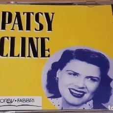 CDs de Música: PATSY CLINE / MISMO TÍTULO / CD - ORBIS FABBRI-1995 / 14 TEMAS / CALIDAD LUJO.. Lote 171707140