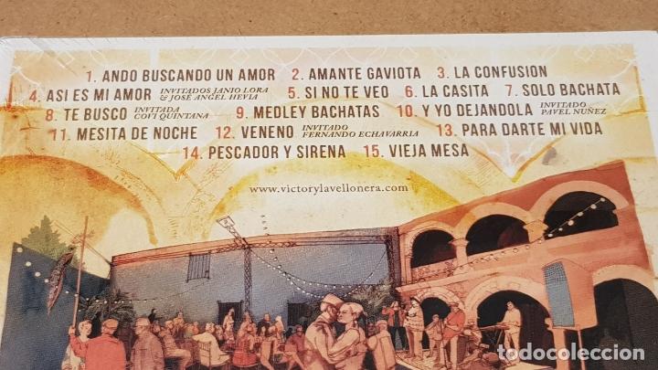 CDs de Música: VICTOR VICTOR & LA VELLONERA / BACHATA EN LA ZONA / DIGIPACK-CD - SATELITE K-2014 / PRECINTADO. - Foto 3 - 171710393