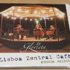 CDs de Música: LA GLORIETA / LISBOA ZENTRAL CAFÈ / MÚSICA SELECTA / DIGIPACK / 15 TEMAS + VIDEO / PRECINTADO.. Lote 171711452