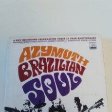CDs de Música: AZYMUTH BRAZILIAN SOUL ( 2004 FAR OUT RECORDINGS ) MUY BUEN ESTADO. Lote 171716647