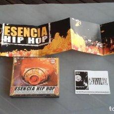 CDs de Música: ESENCIA HIP HOP - CD 4 CDS + DVD. Lote 171720300