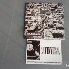 CDs de Música: KRACAUER - CD - EN LA ERA DE LA REPRODUCCIÓN DIGITAL - PRECINTADO. Lote 195047087