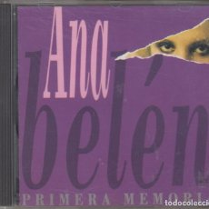 CDs de Música: ANA BELÉN CD PRIMERA MEMORIA 1995. Lote 171736119