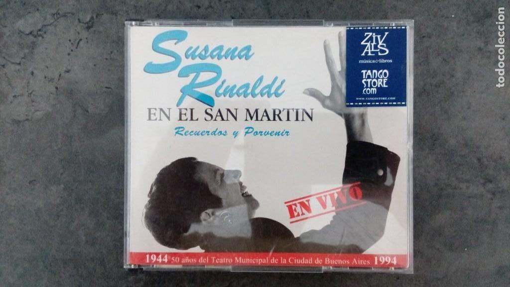 SUSANA RINALDI EN EL SAN MARTÍN. TANGO Y FOLCLORE (Música - CD's Otros Estilos)