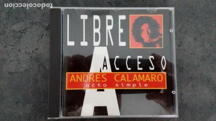 LIBRE ACCESO + EL REGRESO. ANDRÉS CALAMARO (Música - CD's Pop)