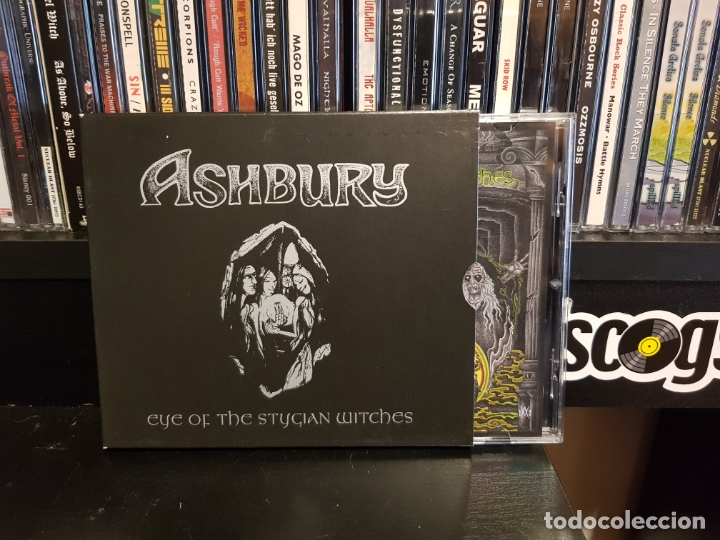 ASHBURY - EYE OF THE STYGIAN WITCHES (Música - CD's Heavy Metal)