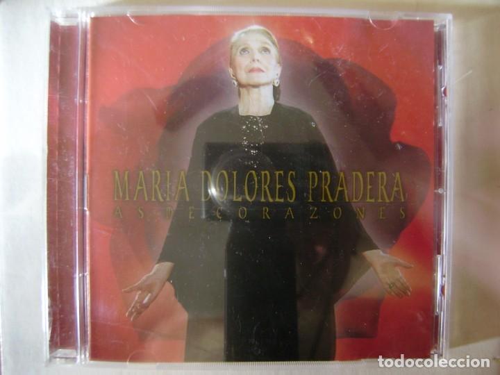 MARIA DOLORES PRADERA.AS DE CORAZONES...PEDIDO MINIMO 5€ (Música - CD's Melódica )