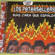 CD de Música: LOS PETERSELLERS, MÁS CARA QUE ESPALDA, CD PRECINTADO. Lote 198298658