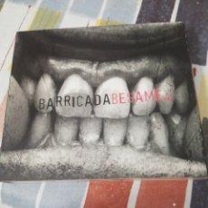CDs de Música: BARRICADA / CD Y DVD / BÉSAME. Lote 171762357