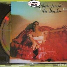 CDs de Música: ROCÍO JURADO, POR DERECHO, CD, EXCELENTE ESTADO. Lote 192964161
