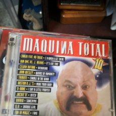 CDs de Música: CD - MAQUINA TOTAL 10 - MAX MUSIC - 1997 (2 DISCOS). Lote 171770349