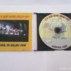 CDs de Música: CD CARNAVAL DE MALAGA 2008 - ¿Y A QUE HORA SALGO YO?. Lote 171779932