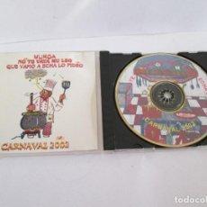CDs de Música: CD CARNAVAL DE MALAGA 2002 - MURGA NO TE VAYA MU LEO QUE VAMO A ECHA LO FIDEO. Lote 171779959