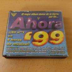 CDs de Música: AHORA 99. 4 CDS. Lote 171781784