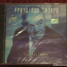 CDs de Música: FRANCISCO CANARO (GRANDES EXITOS) CD 1999 SERIE ORO TANGO * PRECINTADO. Lote 171807534