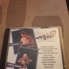 CDs de Música: THE BEST OF JAZZ. VARIOS ARTISTAS. FLASH.. Lote 171813190