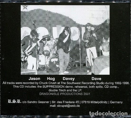 CDs de Música: SUPPRESSION - SUPPRESSION 9296 - Foto 2 - 171815459