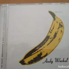 CDs de Música: THE VELVET UNDERGROUND & NICO ANDY WARHOL CD 40TH ANIVERSARY. Lote 171824027