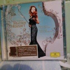 CDs de Música: ANNE SOPHIE MUTTER MOZART CD DOBLE 2005 PEPETO. Lote 171833934