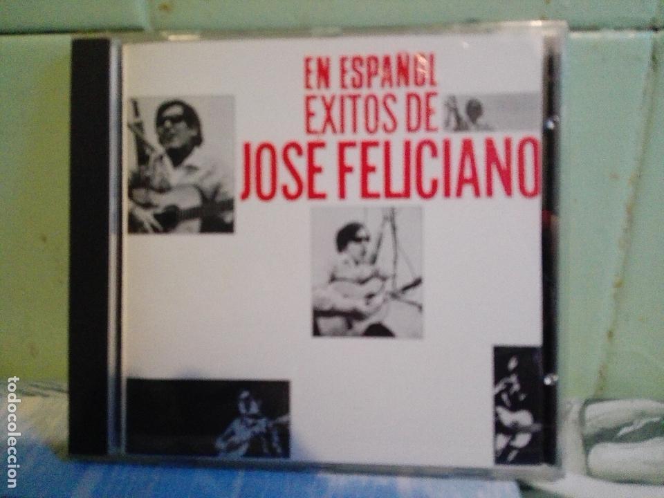 CD JOSE FELICIANO, 18 EXITOS EN ESPAÑOL QUE SERA, DOS CRUCES, CAMINO RCA BMG 1991 PEPETO (Música - CD's Latina)