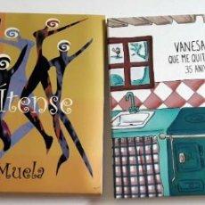 CDs de Música: VANESA MUELA LOTE 2 CDS *GASTOS DE ENVÍO 6 EUROS*. Lote 171970699