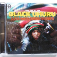 CDs de Música: BLACK UHURU-THE BEST OF. GUESS WHO'S...(CD. ISLAND.2012) BOB MARLEY, JIMMY CLIFF, SLY + ROBBIE.... Lote 171970855