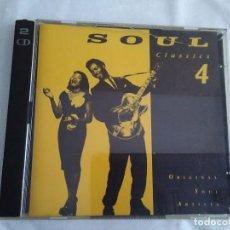 CDs de Música: 14-SOUL CLASSICS 4 , 2 CDS, 1991. Lote 171972743