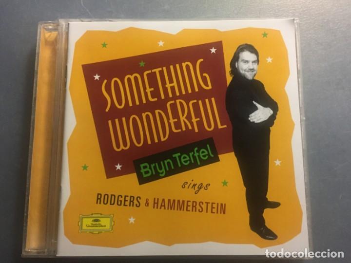 CD SOMETHING WONDERFUL BRYN TERFEL SINGS RODGERS & HAMMERSTEIN MÁS LIBRETO (Música - CD's Melódica )