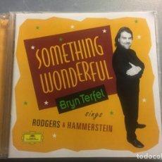 CDs de Música: CD SOMETHING WONDERFUL BRYN TERFEL SINGS RODGERS & HAMMERSTEIN MÁS LIBRETO. Lote 171975257