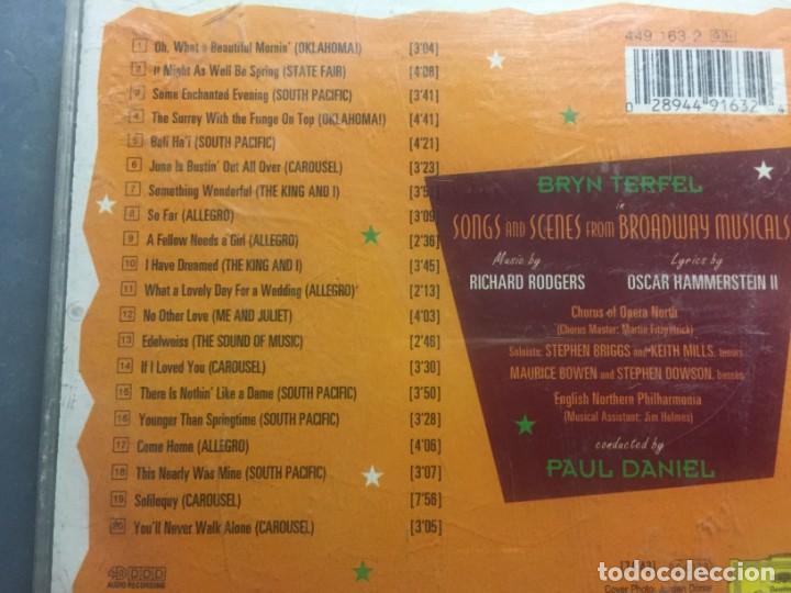 CDs de Música: CD SOMETHING WONDERFUL BRYN TERFEL SINGS RODGERS & HAMMERSTEIN MÁS LIBRETO - Foto 2 - 171975257