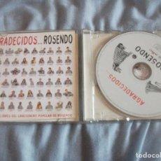 CDs de Música: ROSENDO MERCADO, AGRADECIDOS, CD HOMENAJE, ENEMIGOS, BARRICADA,EXTREMODURO, MAMA LADILLA. Lote 171991763