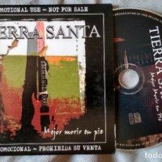 CDs de Música: TIERRA SANTA - MEJOR MORIR EN PIE. CD PROMOCIONAL 2006. Lote 171995104