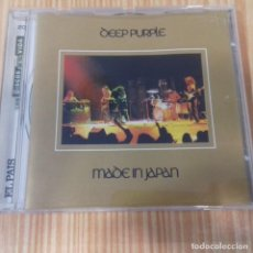 CDs de Música: DEEP PURPLE MADE IN JAPAN EL PAÍS . Lote 172011557