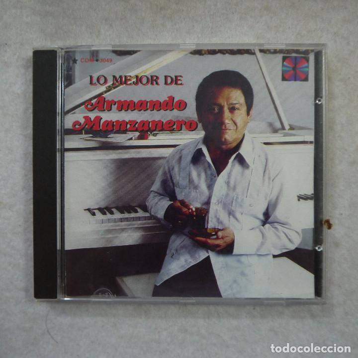 ARMANDO MANZANERO - LO MEJOR DE ARMANDO MANZANERO - CD (Música - CD's Latina)