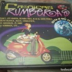 CDs de Música: CRONICAS RUMBERAS 3 CD. Lote 172023577