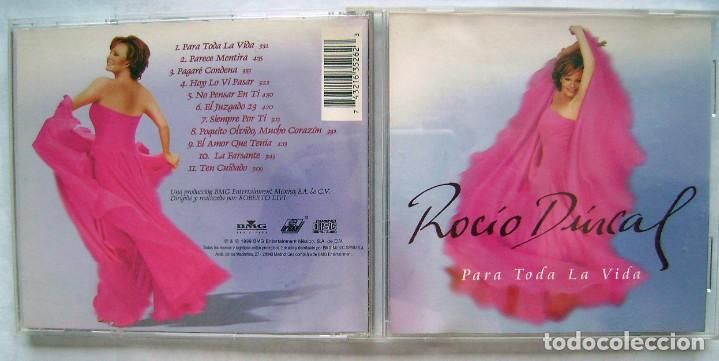 ROCÍO DURCAL. CD 1999. (Música - CD's Flamenco, Canción española y Cuplé)
