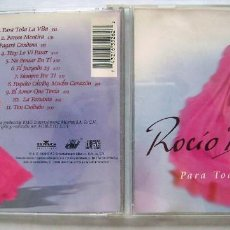 CDs de Música: ROCÍO DURCAL. CD 1999.. Lote 172029208
