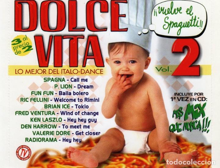 DOLCEVITA 2 - LO MEJOR DEL ITALO-DANCE (3CDS) 1998 (Música - CD's Disco y Dance)