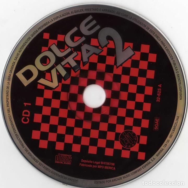 CDs de Música: dolcevita 2 - lo mejor del italo-dance (3cds) 1998 - Foto 3 - 172032598
