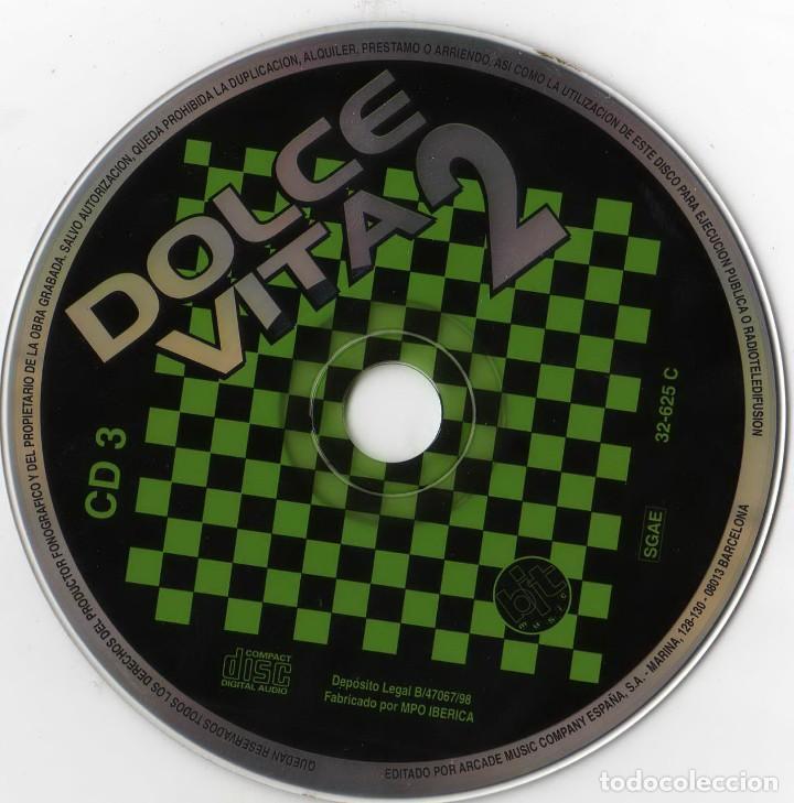 CDs de Música: dolcevita 2 - lo mejor del italo-dance (3cds) 1998 - Foto 5 - 172032598