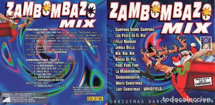CDs de Música: zambombazo mix (1cd) 1996 - Foto 3 - 172032683