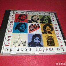 CDs de Música: LO MEJOR PEOR DE LES LUTHIERS. Lote 172032852