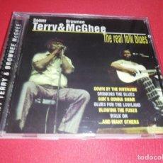 CDs de Música: SONNY TERRY & BROWNER MCGHEE, THE REAL FOLK BLUES. Lote 172033013