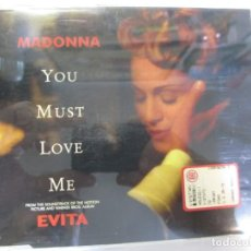CDs de Música: CD SINGLE MADONNA EVITA YOU MUST LOVE ME WARNER BROS. Lote 172034588